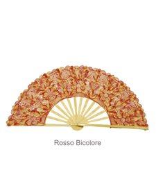 Ventaglio gigante legno e tessuto pizzo art. DIAMANTE ROSSO BIC