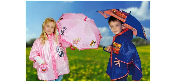 Mantelle Pioggia Bambini